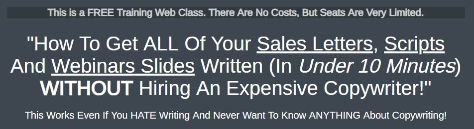 How To Write A Killer Sales Pitch