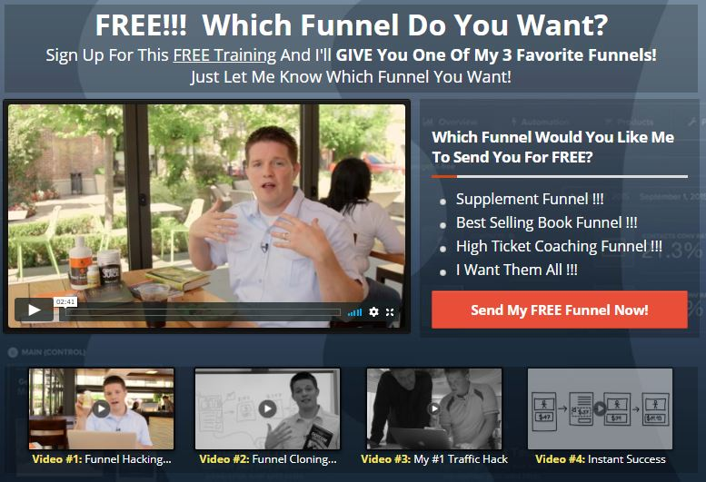Clickfunnels Best Supplement Funnel
