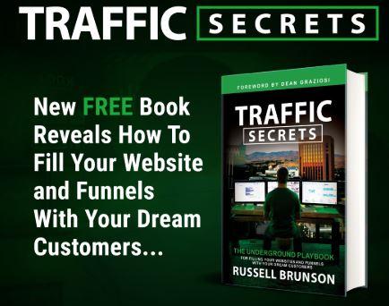 ClickFunnels Traffic Secrets Book Russell Brunson
