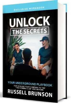 Russell Brunson Unlock The Secrets Book